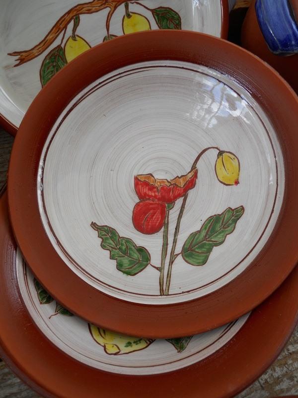 Authentic Salt Spring Ceramic Serving Dishes